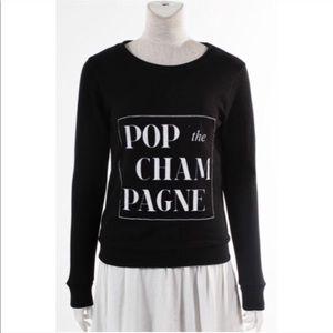 Sweaters - LAST ONE! Pop the Champagne Sweatshirt